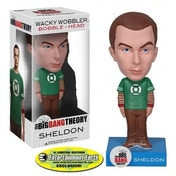 Big Bang Theory Sheldon Cooper Green Lantern Bobble Head