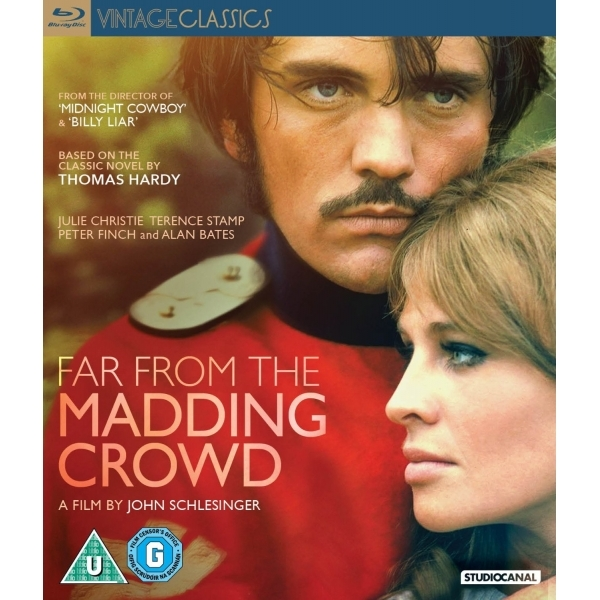 Far From the Madding Crowd 1967 Blu-ray
