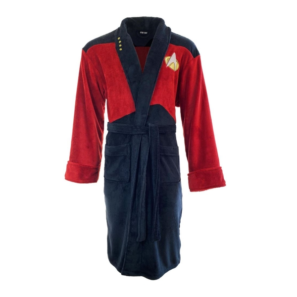 Star Trek Red Picard The Next Generation Robe - Image 1