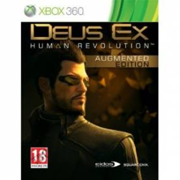 Deus Ex Human Revolution Augmented Edition Game Xbox 360