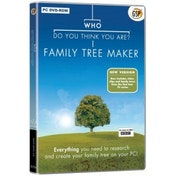 Who Do You Think You Are? Family Tree Maker PC