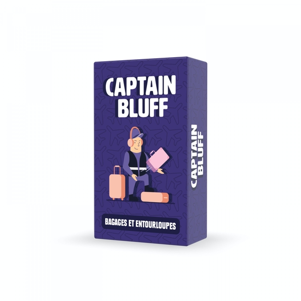 Captain Bluff Card Game