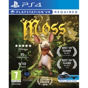 Ex-Display Moss PS4 Game (PSVR Required) Used - Like New