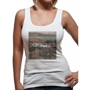 Deftones - Landscape Women's Medium Vest - White