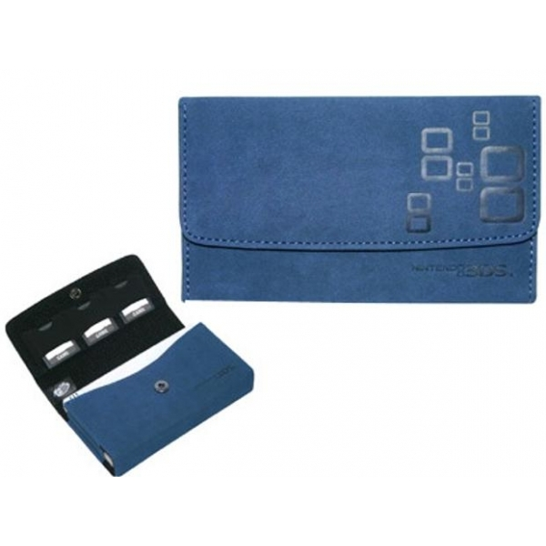Blue Microsuede Wallet 3DS - Image 2