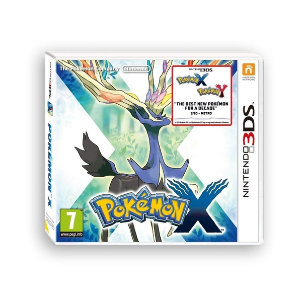 Pokemon X 3DS Game - Image 1