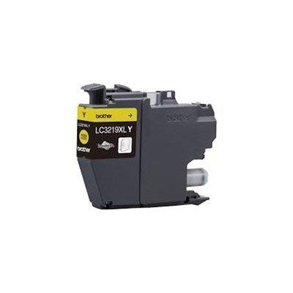 141196 - Brother LC-3219XLY (Yield: 1,500 Pages) Yellow Ink Cartridge