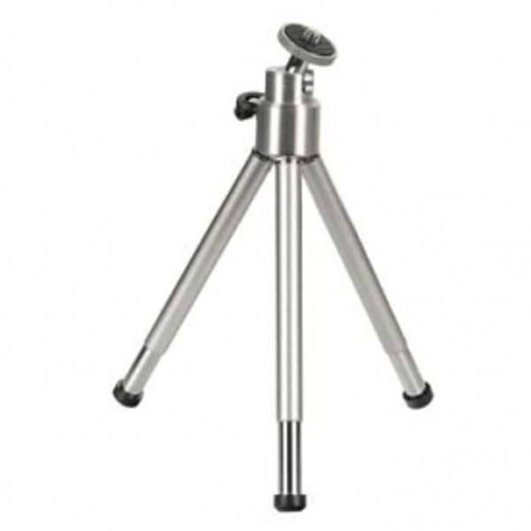 Image of Hama Mini Tripod with Ball Tilt Head Silver 00004009