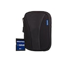 PRAKTICA 16GB SDHC Card and Neoprene Case Bundle