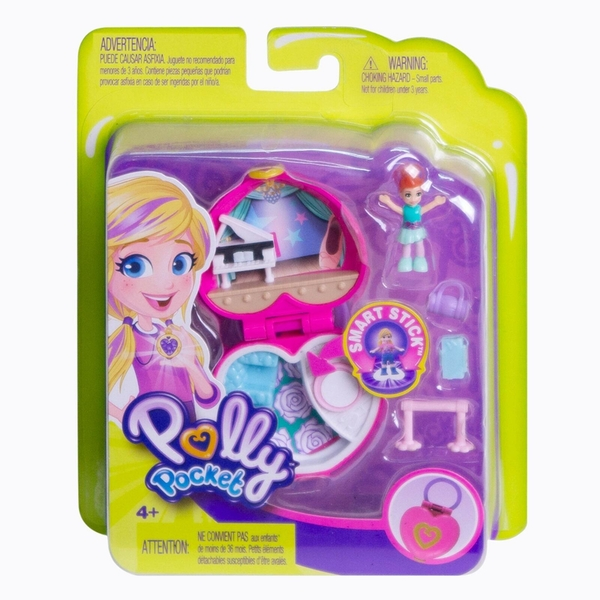 Polly Pocket Tiny Places Ballet Play Set - Image 1