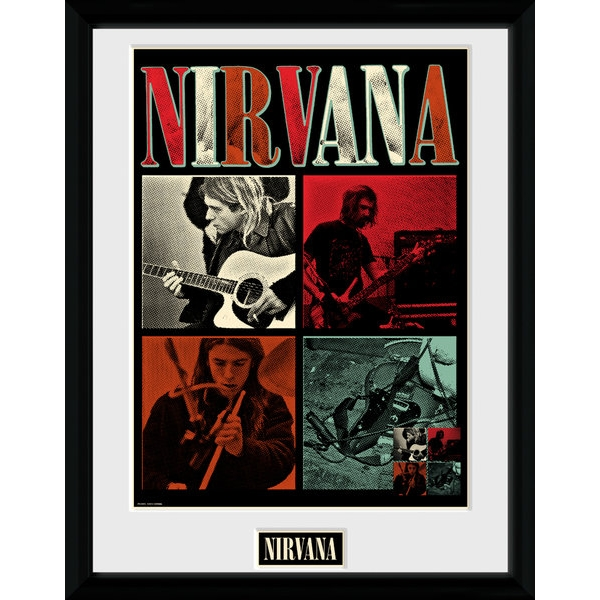 Nirvana Squares Collector Print