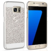 Caseflex Samsung Galaxy S7 Flash Diamond Case - Silver
