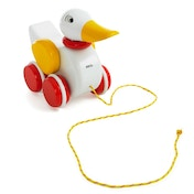 BRIO Wooden Pull Along Duck