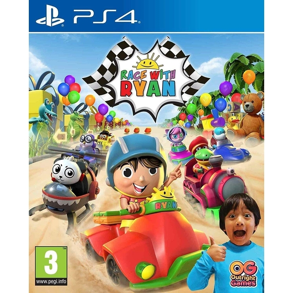 Race with Ryan Road Trip Deluxe Edition PS4 Game