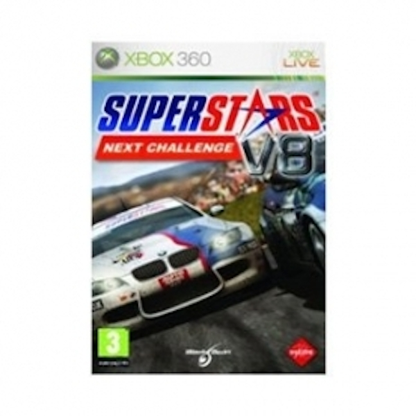 Ex-Display Superstars V8 Racing Next Challenge Game Xbox 360 Used - Like New