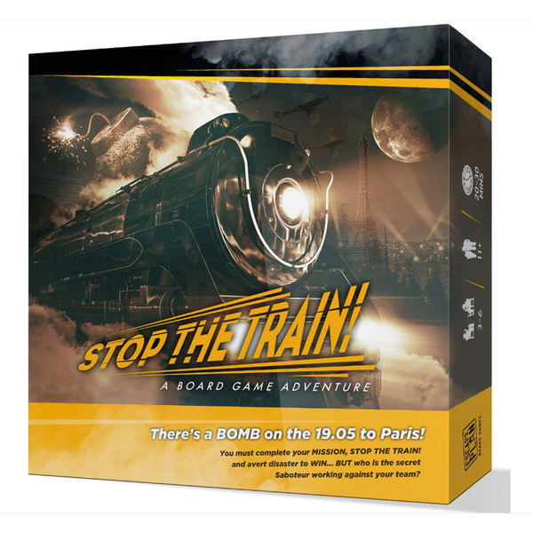 Stop the Train! Board Game