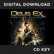 Deus Ex Mankind Divided PC CD Key Download for Steam