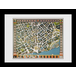Transport For London Stylised Map 60 x 80 Framed Collector Print - Image 2