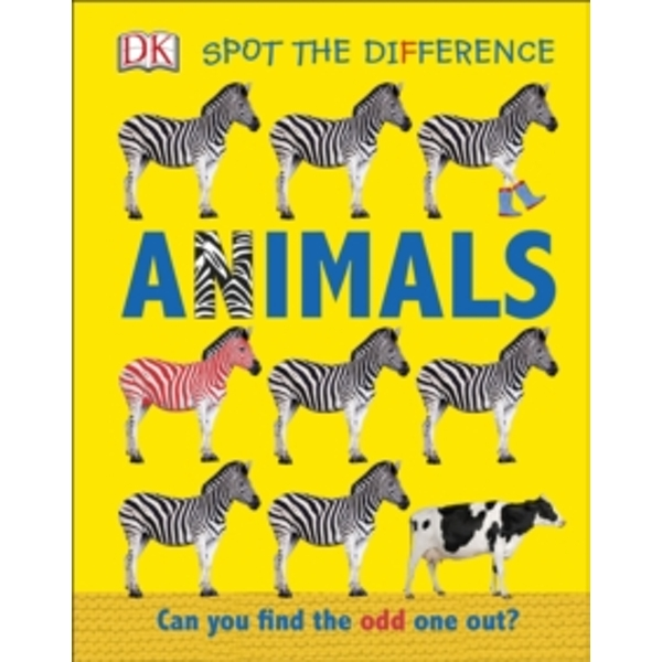 Spot the Difference Animals : Can You Find the Odd One Out?