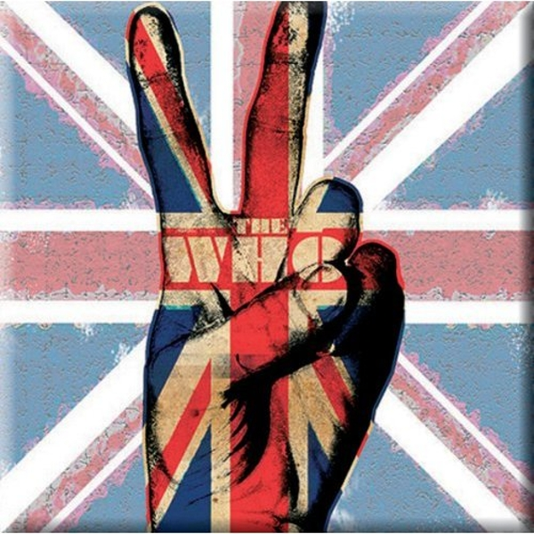 The Who - Peace Fingers Fridge Magnet