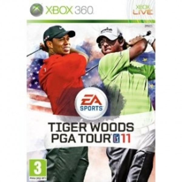 Ex-Display Tiger Woods PGA Tour 11 Game Xbox 360 Used - Like New