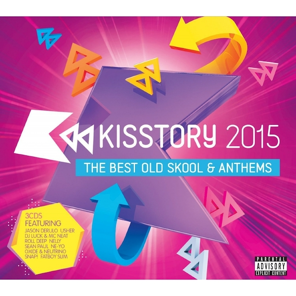 Kisstory 2015 (Explicit) CD