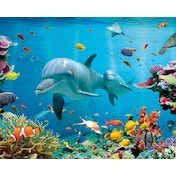 Tropical Ocean Mini Poster