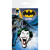 Batman Comic Joker Face Key Ring