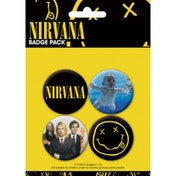 Nirvana Badge Pack