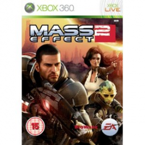 Mass Effect 2 Game Xbox 360