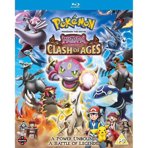 Pokemon The Movie: Hoopa and the Clash of Ages Blu-ray