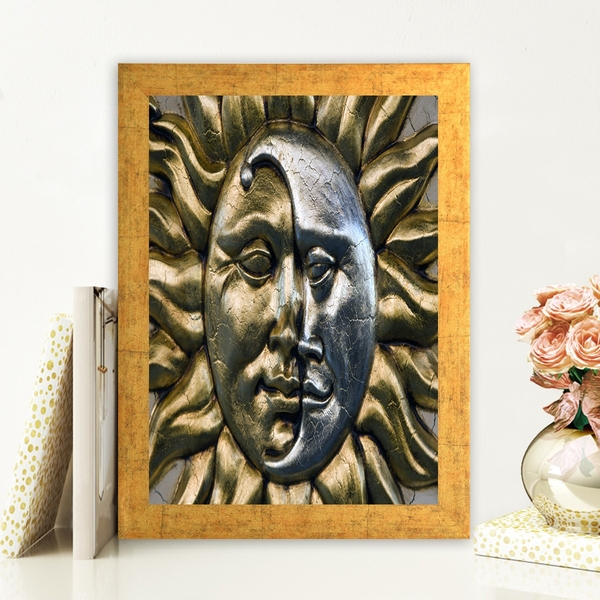 AC2810984 Multicolor Decorative Framed MDF Painting