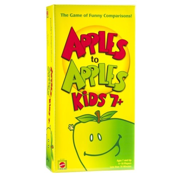 Apple To Apples Kids - The Game of Crazy Comparisons