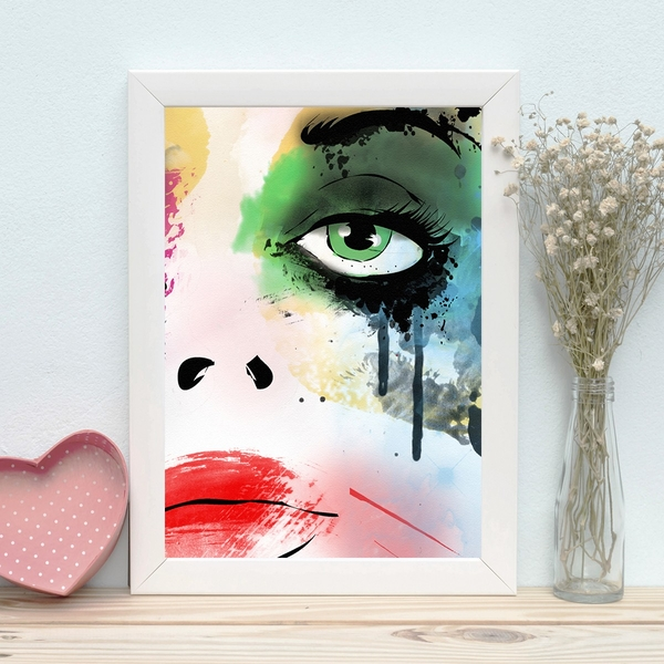 BC848730967 Multicolor Decorative Framed MDF Painting