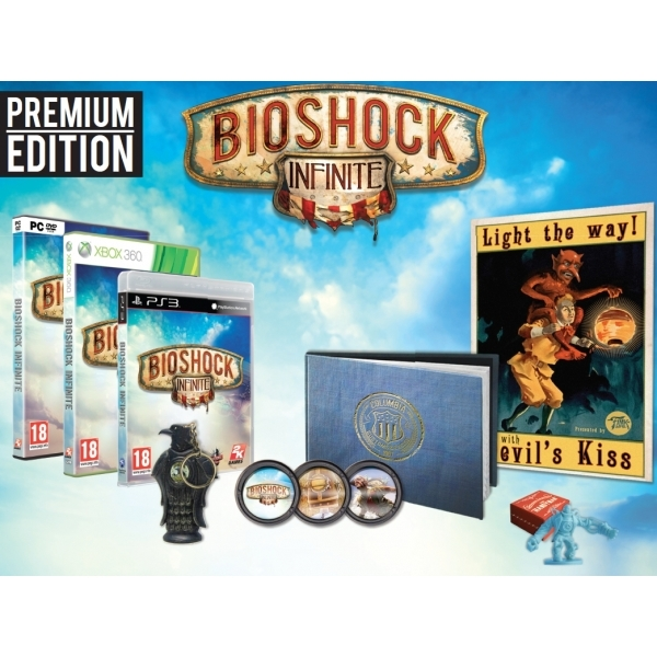 BioShock Infinite Premium Edition Game Xbox 360