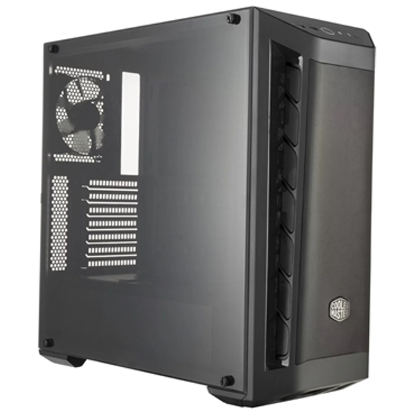 Cooler Master MasterBox MB511 Mid Tower 2 x USB 3.0 Side Window Panel Black Case with Black Trim