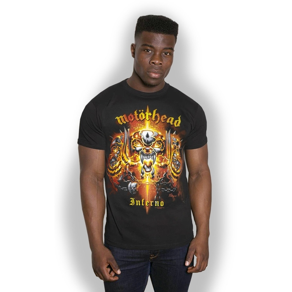 Motorhead - Inferno Unisex Medium T-Shirt - Black