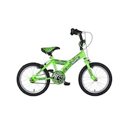 Sonic Robotnic Boys Junior Bike - Green, 16 Inch
