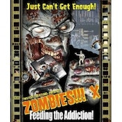 Zombies!!! X Feeding the Addiction Board Game