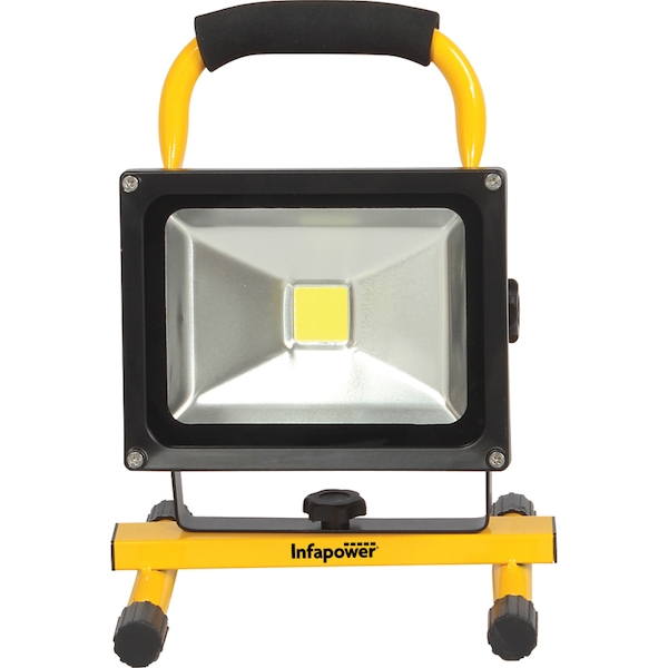 Infapower F049 20W LED Portable Rechargeable COB Worklight UK Plug