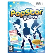 Pop Star Guitar (includes FREE AirG Peripheral) Wii