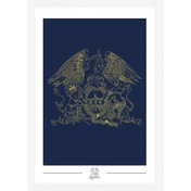 Queen Crest Collector Print