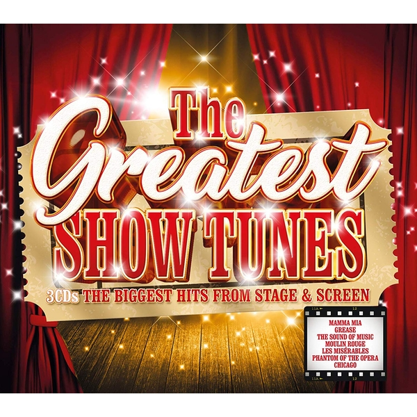 Various Artists - The Greatest Show Tunes CD