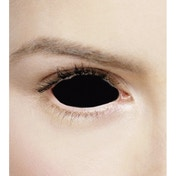 Posessed Black 1 Year Sclera Coloured Contact Lenses (MesmerEyez Xtreme)
