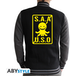 Assassination Classroom - S.A.A.U.S.O Men's X-Large Hoodie - Black - Image 2