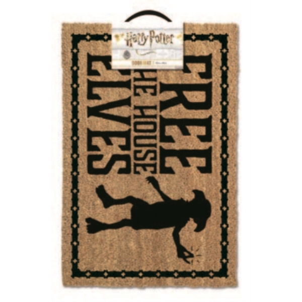 Harry Potter - Free The House Elves Door Mat