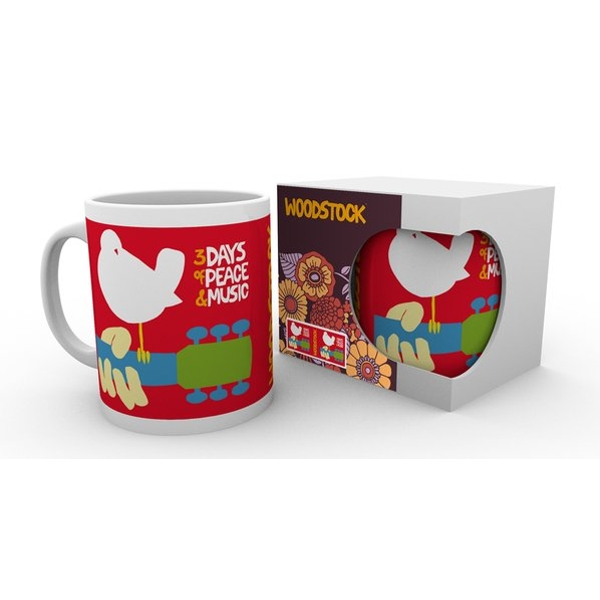 Woodstock 3 Days Of Piece - Mug Gift Set