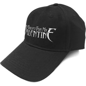 Bullet For My Valentine - Silver Logo Men's Baseball Cap - Black