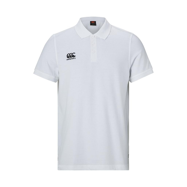Canterbury Waimak Polo Shirt White - Medium