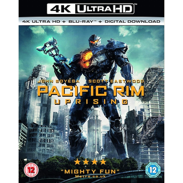 Pacific Rim Uprising 4KUHD   Blu-Ray   Digital Download